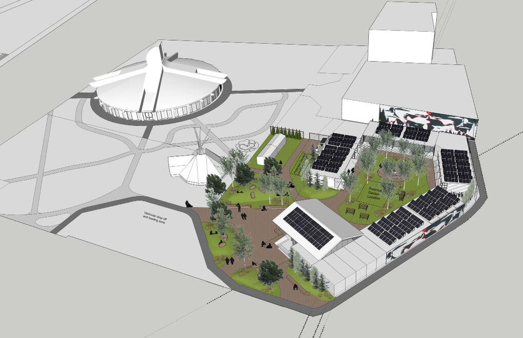 Architecture plans for a new temporary housing solution